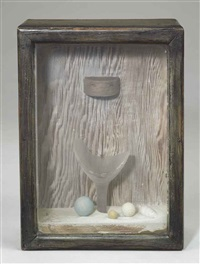 untitled (sand fountain) by joseph cornell