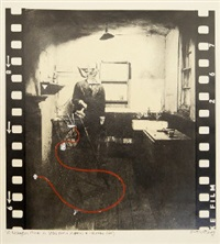 10 rillington place w11 (still from a proposed 16mm film) by brett whiteley