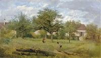 au verger (in the orchard) by jean-jean cornu