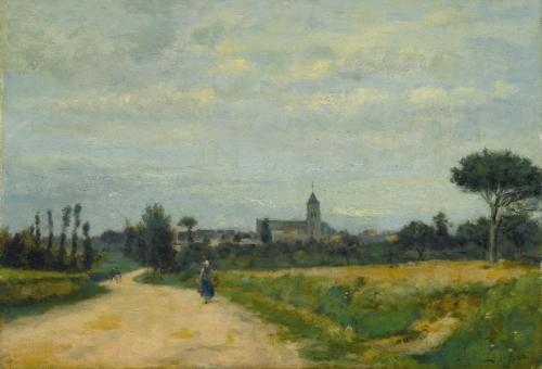 le village douistreham by stanislas lépine