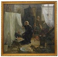 the quarrel by nikolai alexeievich kasatkin