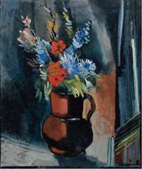 bouquet de fleurs by maurice de vlaminck