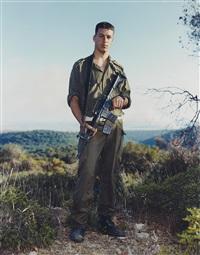 amit, golani brigade, elyacim, israel, may 26, 1999 (c) by rineke dijkstra