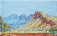 central australia by douglas kwarlpe abbott