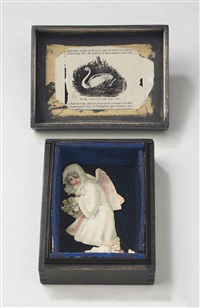 untitled (swan and snow maiden) by joseph cornell