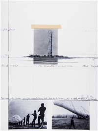 5600 cbm package, project for documenta 4, kassel by christo and jeanne-claude