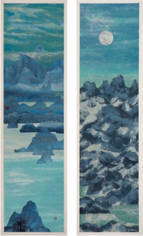 waves of mountains 2 works by master of the water pine and stone retreat