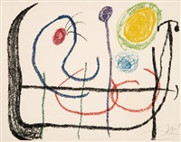 untitled (from album 21) by joan miró