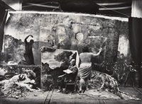 studio of the painter, courbet, paris by joel-peter witkin