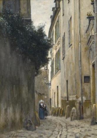 montmartre la rue saint vincent by stanislas lépine