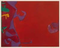 morning reds by patrick heron