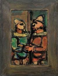 les deux frères by georges rouault