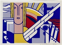modern art poster by roy lichtenstein