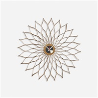 sunflower clock by george nelson & associates