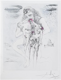 kronos (from mythologie series) by salvador dalí