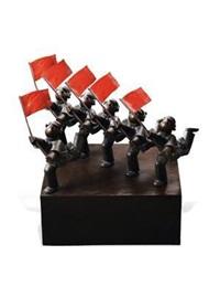 革命纪念碑4 by jiang shuo