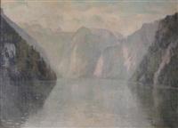 lac en montagne by georgette agutte