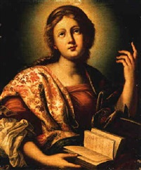 saint catherine of alexandria by fabrizio boschi