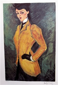 l'amazon by amedeo modigliani