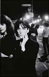 patti smith, bowery by godlis
