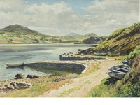 old harbour, kyle of tongue by james mcintosh patrick