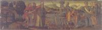 the meeting of abraham and melchizedek by raffaelino del garbo