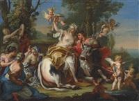 the rape of europa by sebastiano conca