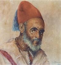 homme au fez (mohasni du sultan) by felipe barantes abascal