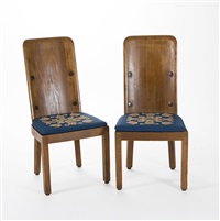 chairs lovö (pair) by axel einar hjorth