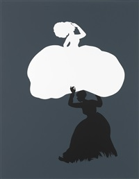 the emancipation approximation (scene 18) by kara walker