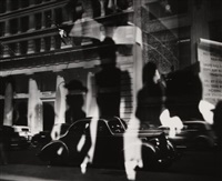window reflections, fifth avenue by lisette model