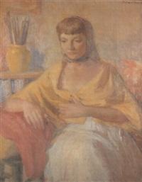 figura amarilla by manuel humbert