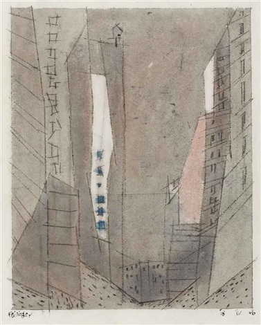 manhattan by lyonel feininger