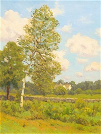 the house across the field by charles warren eaton