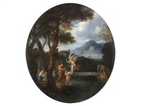 the baptism of christ by french school (17)