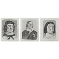 print 90-92 from 3 pièces de jeunes filles (3 works) by toshio arimoto