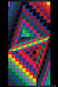 tridim iv by victor vasarely