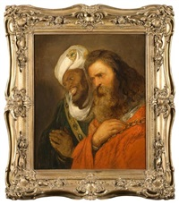 saladin et guy de lusignan by jan lievens