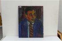 portrait d'homme by pierre ambrogiani