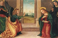 the annunciation by raffaelino del garbo