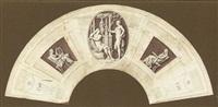 neo-classical design for a fan by gaspare gabrielli