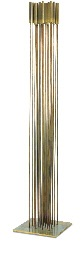 a bronze sounding sculpture, 1978 by harry bertoia