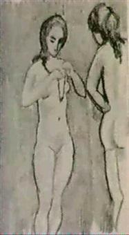 gruppen weibliche akte