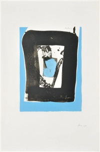 untitled from the basque suite by robert motherwell