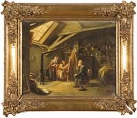 dans l'atelier du peintre by theodore bernard de heuvel
