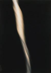 untitled xiv (ejaculate in trajectory) by andres serrano