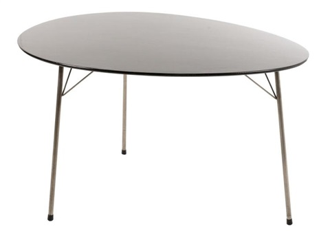 Arne Jacobsen Model 3603 Egg Table For Fritz Hansen Von Arne