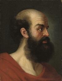 Nachfolger von Christian Wilhelm <b>Ernst Dietrich</b> - christian-wilhelm-ernst-dietrich-head-of-an-old-man-in-a-turban-(+-head-of-a-man;-pair)