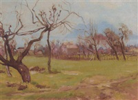 across the orchard to the island beyond by maud hall (rutherford) neale