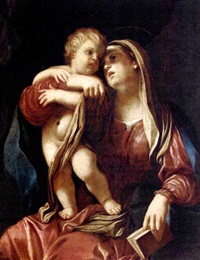 the madonna and child by giovanni maria viani